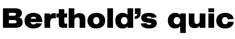 AG Book Std Bold Extended