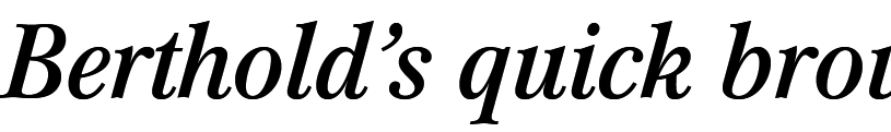 Mikaway Condensed Italic