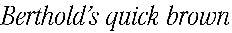Mikaway Light Condensed Italic